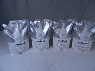 4 New Large Method Ge Hand Wash Refills