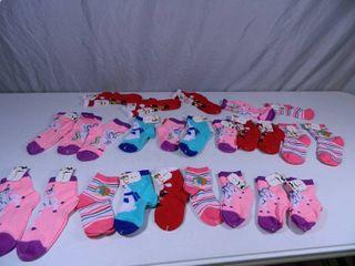 25 New Pairs of Kids Socks
