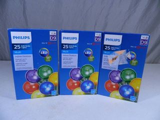 3 New Boxes of Philips LED Lights