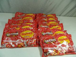 14 New Large Bags of Skittles and Starbursts