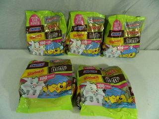 5 Large Bags of Candy