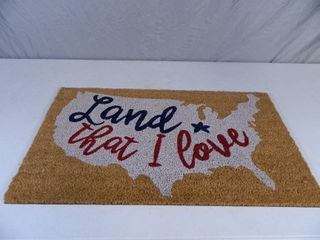 New Land That I Love Outdoor Welcome Mat