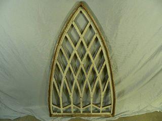 Re-Purposed Wood Handmade Window Frame
