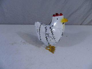 New Recycled Metal Garden Art Chicken