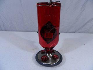 New Glass Perky Pet Antique Hummingbird Feeder