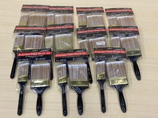 (11) New 2-Packs Of Painters Brushes