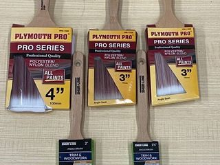 Box Of New Pro-Series Paint Brushes