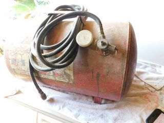 Portable air storage