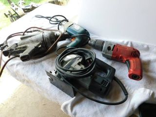 Four power tools