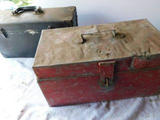 Two Vintage Toolboxes