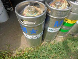 Kegerator Deposit Kegs   CO2 Cylinders