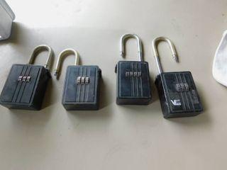 Realtor lockboxes  4 ea