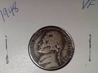 1948 Jefferson Nickel