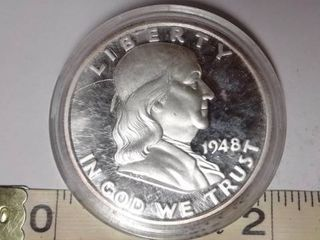1948  Franklin Half Dollar Copy