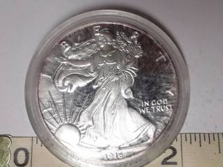 1916  Walking liberty Half Dollar Copy