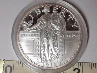 1916  Standing liberty Quarter Copy