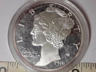 1916  Morgan Silver Dollar Copy