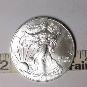 2014 Silver Eagle  UNC  1 oz