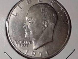 1971 D Eisenhower Dollar  UNC