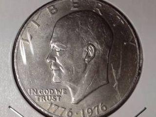 1776 1976 Eisenhower Dollar