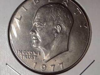 1977 D Eisenhower Dollar