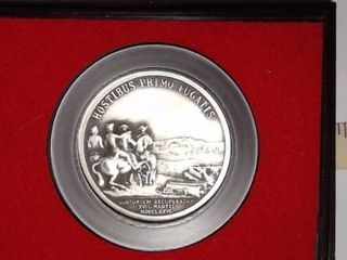 George Washington Before Boston  PEWTER Medal