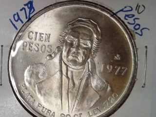1977 10 Pesos