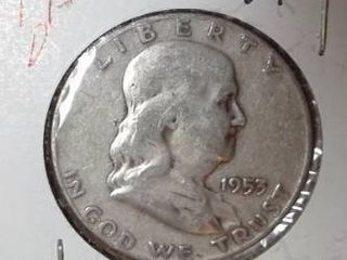 1953 D Franklin Half Dollar