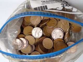 1000 Wheat Pennies  Mixed Dates  Mints and Conditions