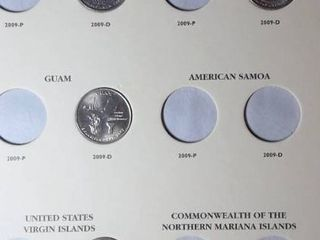 6 Books  24 Quarters including Department of Commerce and US Territories  2009