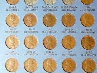 lincoln Head Cent Book  1941   up  53 Pennies