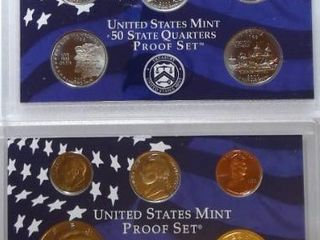 2000 Mint Proof Set