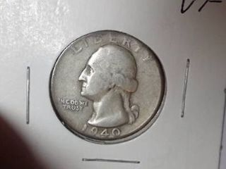 1940 Washington Quarter