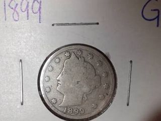 1899  V  Nickel