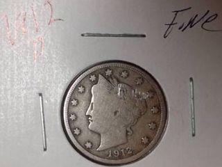 1912 D  V  Nickel