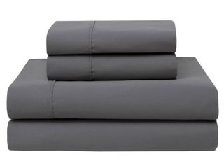 Wrinkle Free 420 Thread Count Cotton Bed Sheet Set KING