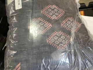 KAIlIM Black Indoor  Outdoor Pillow