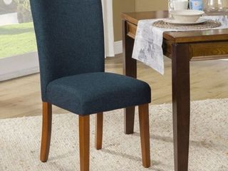 HomePop Parsons Dining Chairs  set of 2 TEAl