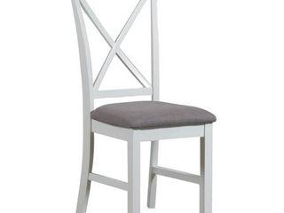 Emma Side Chair White   Powell Company