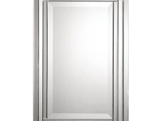 Uttermost  Alanna  Frameless Vanity Mirror   Silver   22x34x2