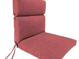 Jordan Manufacturing Outdoor 22  x 44  x 4  Chair Cushion  1 Pack