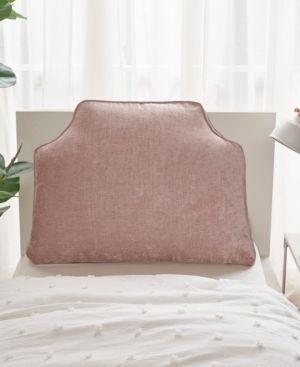 Valor Chenille Headboard Pillow Blush