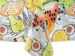 Mainstays Fruit Vinyl Tablecloth  60 x84