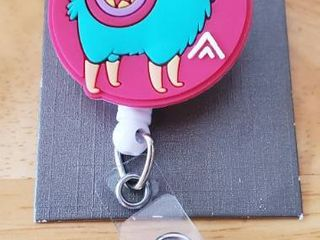 Badge Reel   llama Reel  Great Gift For Anyone Who Wears A Badge