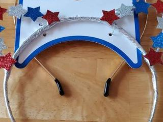 Pair of Patriotic Head Bands