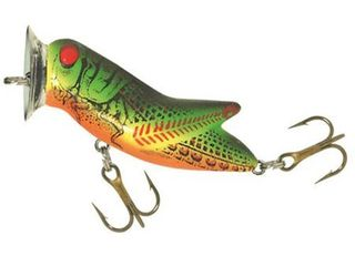 Rebel Crickhopper Popper Fishing lure   Fire Tiger