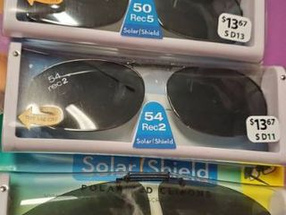 lot of Solar Shield Clipon