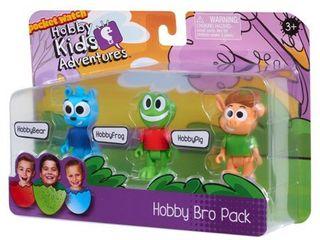 HobbyKids 3 Piece Hobby Bro Figure Set