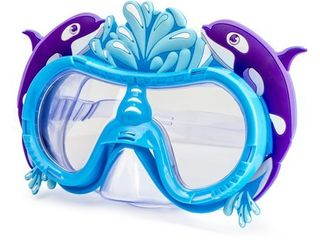 Greyland Trading Child Character Purple Dolphin Swim Mask