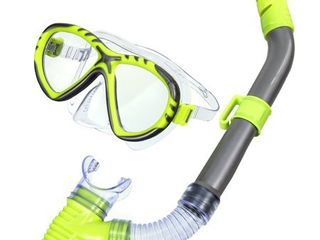 Youth Fiji Mask   Snorkel Swim Set   Yellow
